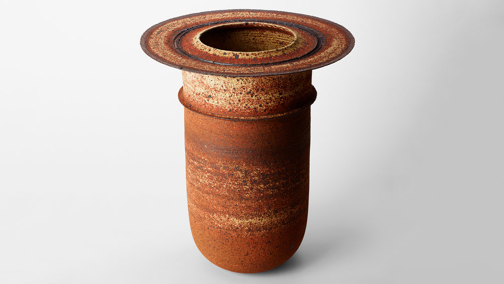 Thrown Stoneware Form   by Ray Silverman