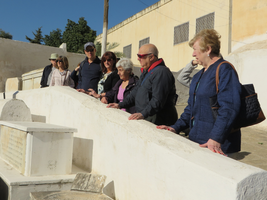 JR Tour - Morocco - Cemetery - Joan 2
