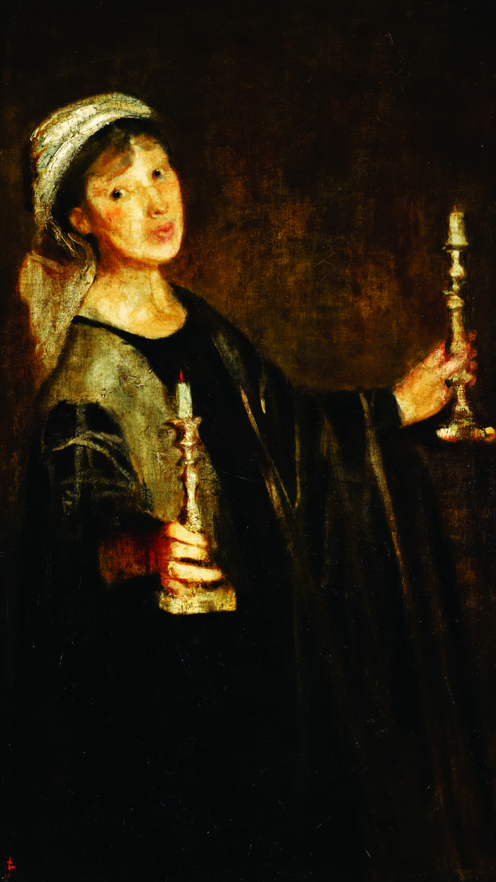 Joseph, Lily Delissa, Self-Portrait with Candles