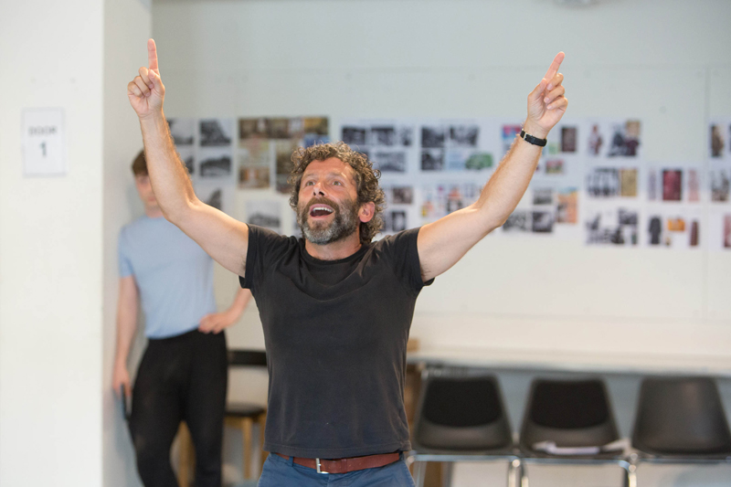 01RET Rehearsal The Might Walzer Elliot Levey (Oliver Walzer) photo Jonathan Keenan