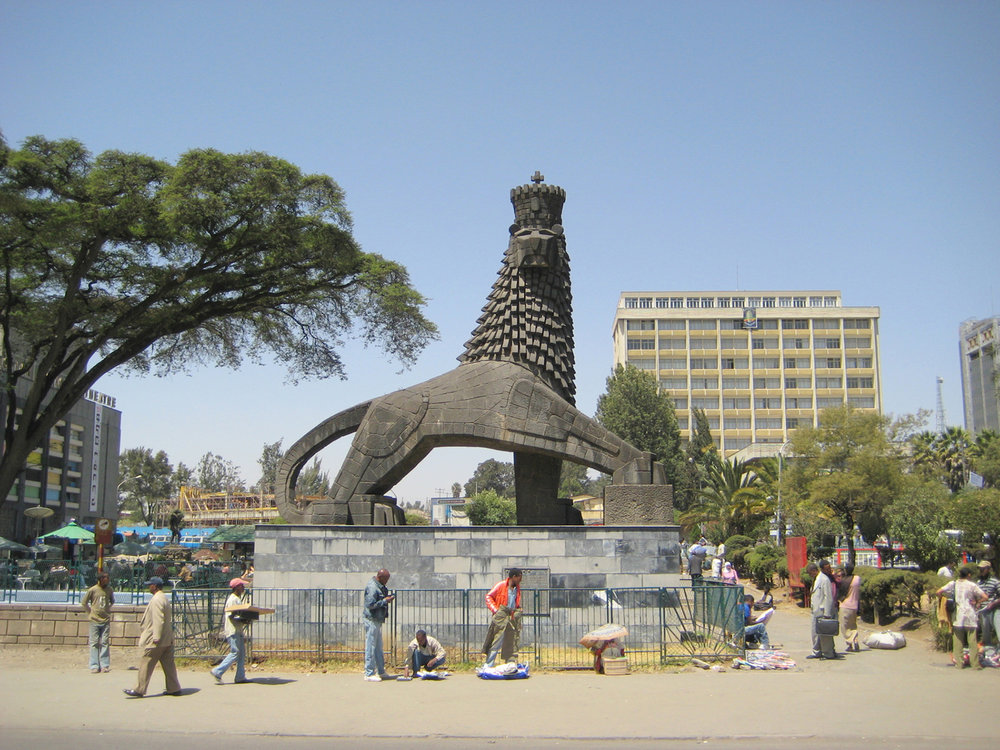 Lion of Judah, Addis Ababa