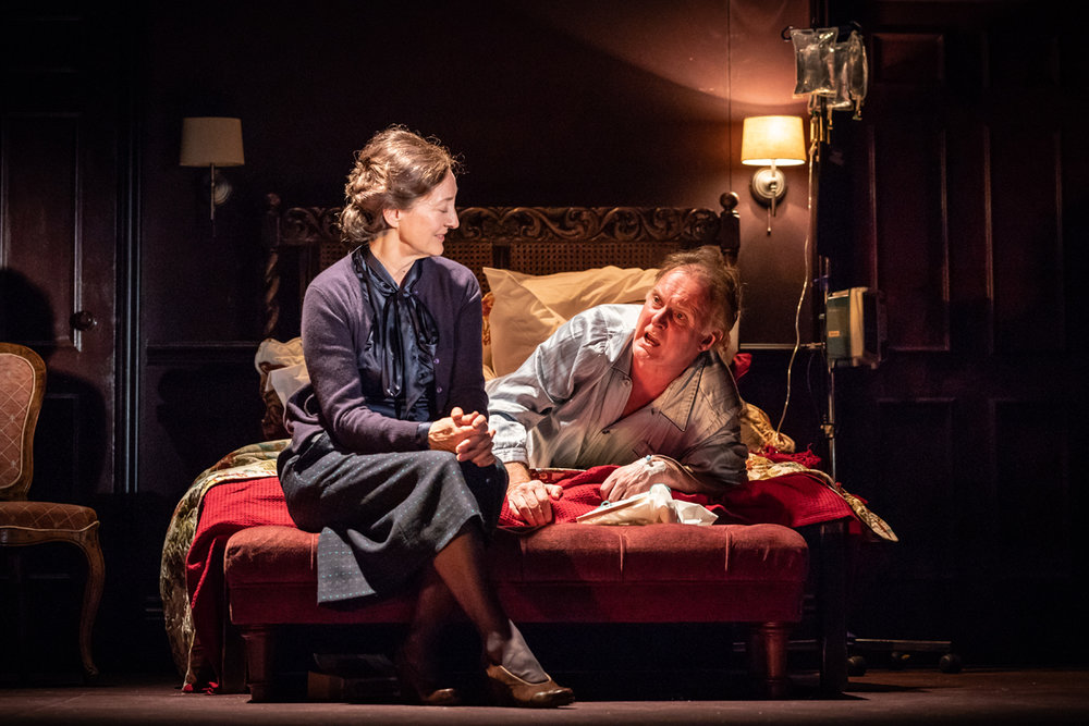 Brid Brennan and Robert Glenister in Pinter Four.  Photo credit Marc Brenner. DRESS-2534.jpg