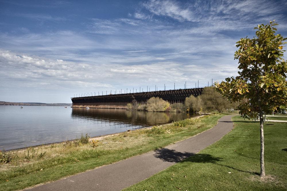 Ashland Wisconsin Oredock