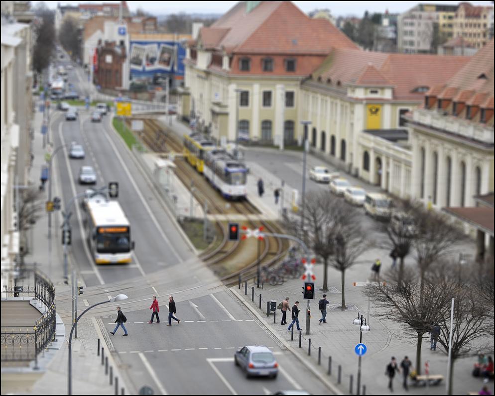 Landratsamt in Goerlitz, Festakt zu Einweihung Neues Ladratsamt.Ein Blick aus dem Balkon auf die Stadt.Foto: Pawel Sosnowski