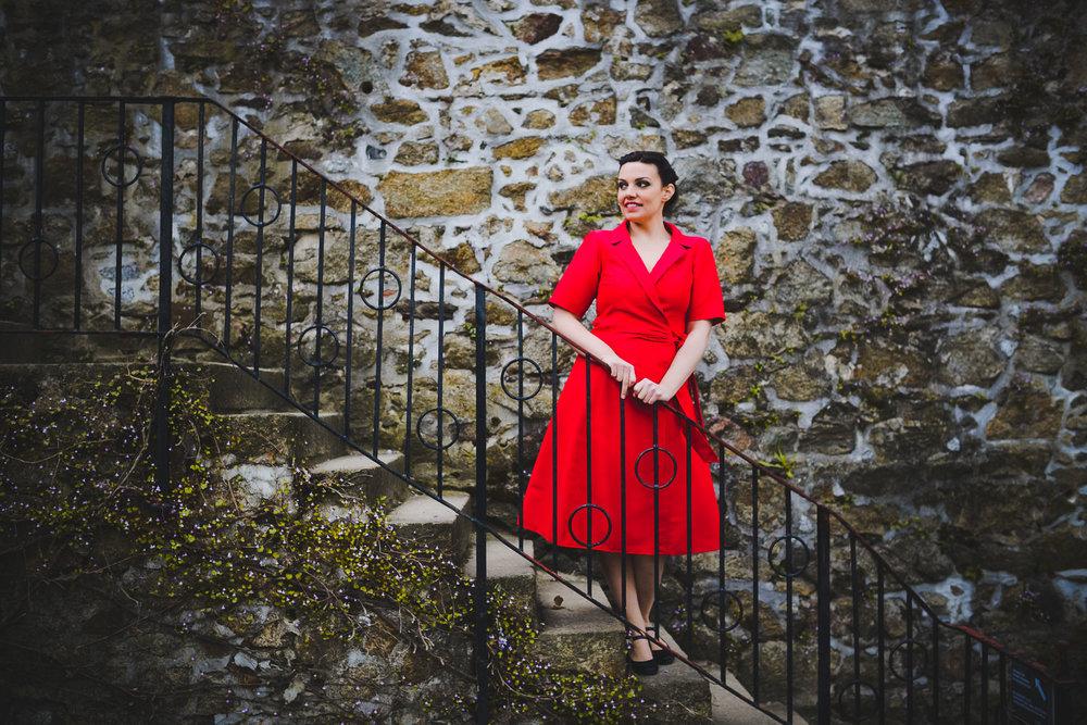 Audrey Larose Zicat, Sopranistin.//Foto: Pawel Sosnowski