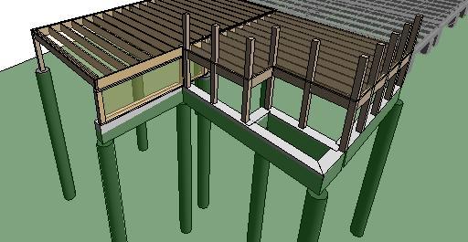 Master and exterior porch