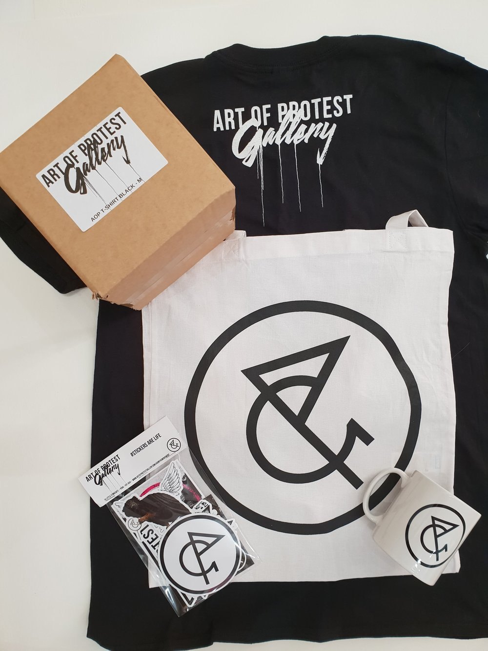 Art of Protest Gallery Merch Kit
