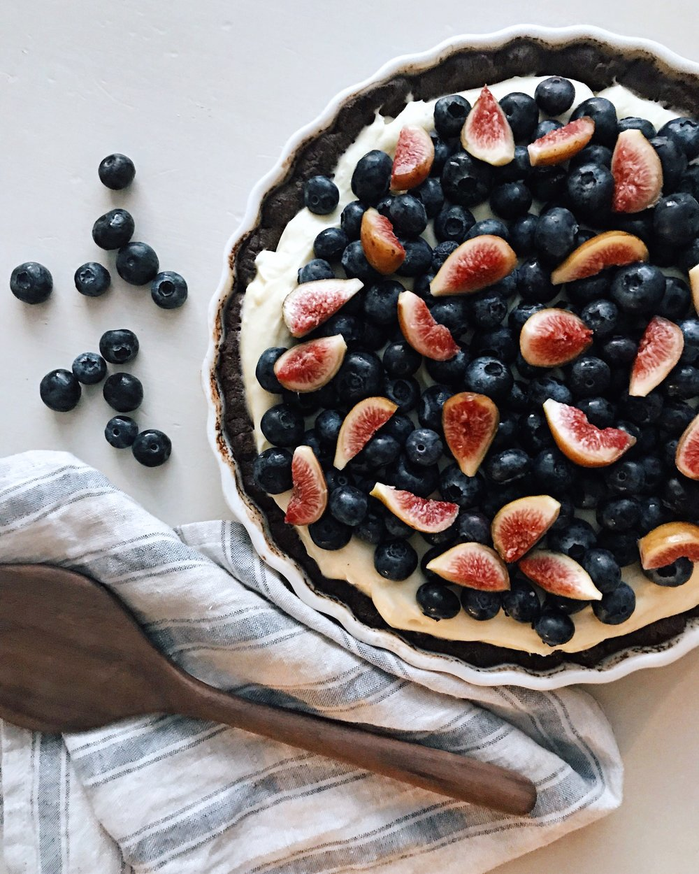 Black Fruit Tart from Sweeter Off The Vine by Yossy Arefi