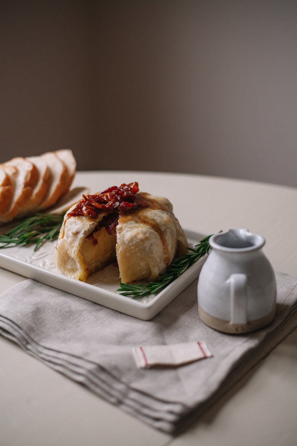 Maple Bacon Baked Brie | Marina Gunn