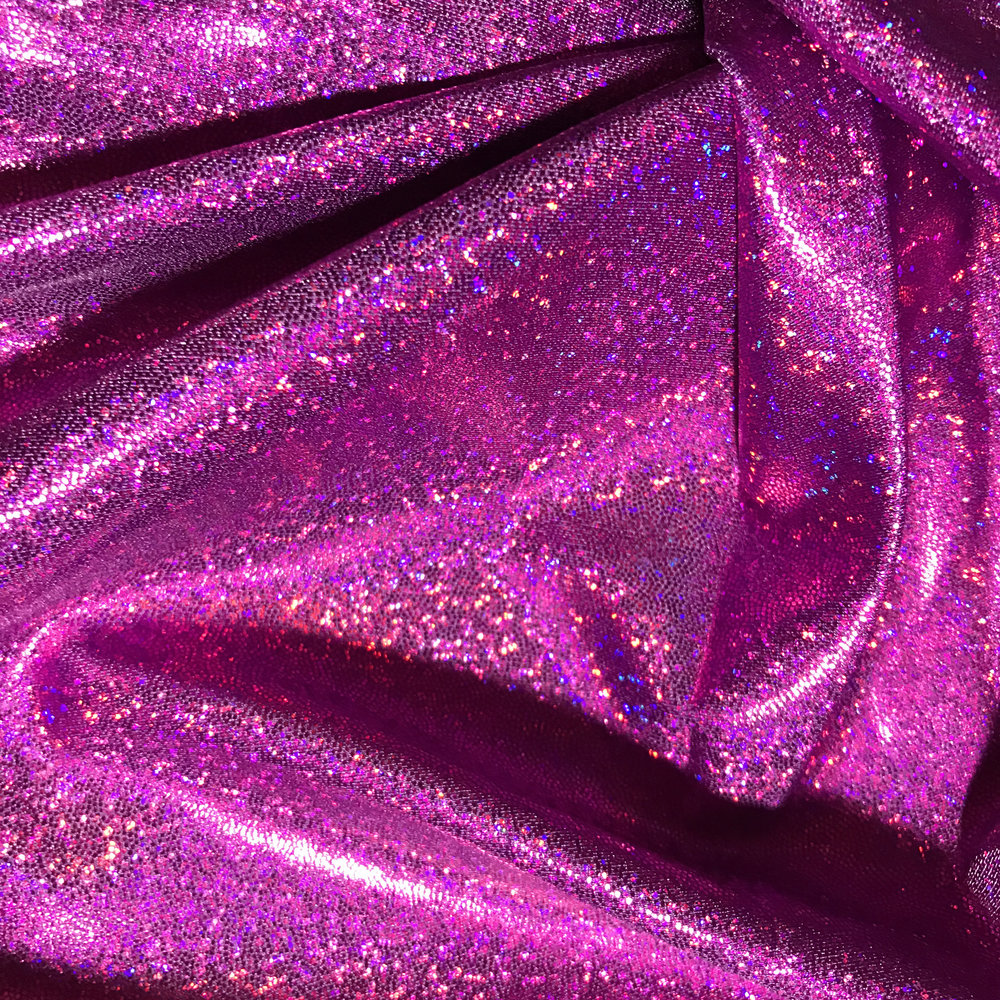 Fuchsia Purple Holographic