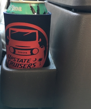 "Club koozie - Fits great in any social situation, and even your 80's ""cup holder"" - $3ea, 2/$5"