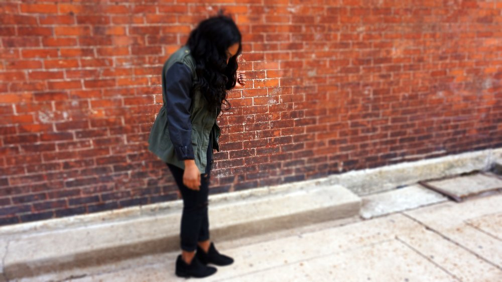 Autum Love-Cargo Jacket-Distressed Denim-Fashion Blog