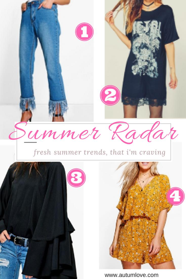 Summer Fashion Treat List