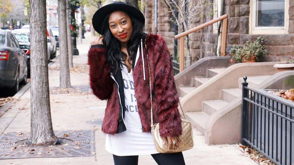 How to dress down your fur coat