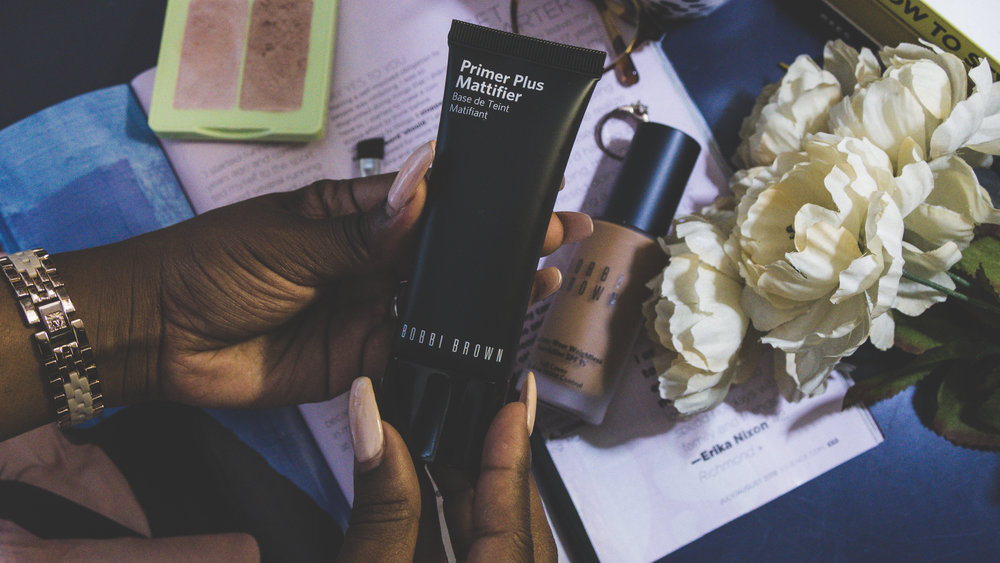Bobbi Brown Primer Plus Mattifier, primer, autum love, bobbi brown, face primers for beginners