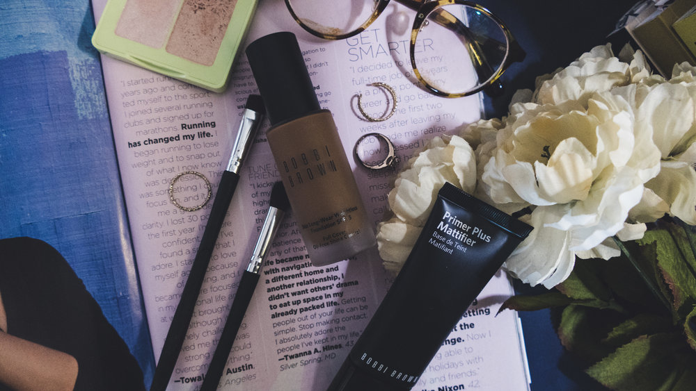 Bobbi Brown Long-Wear Weightless  Foundation SPF 15 & Primer  Plus Mattifier