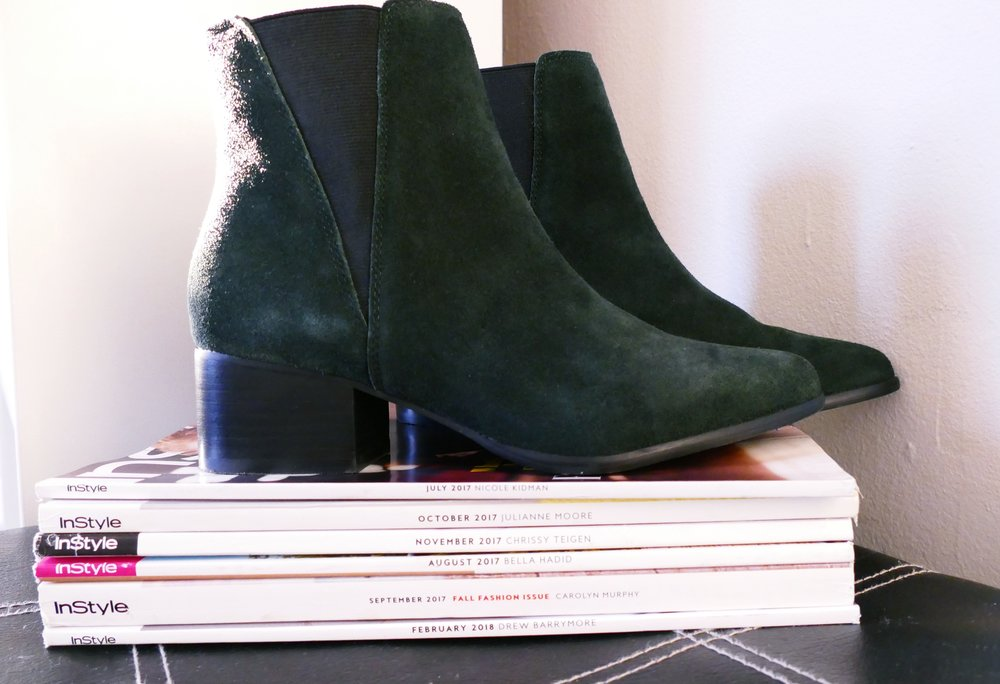 Suede boots, urban outfitters, ankle boots, green ankle boots, how to style, how to wear