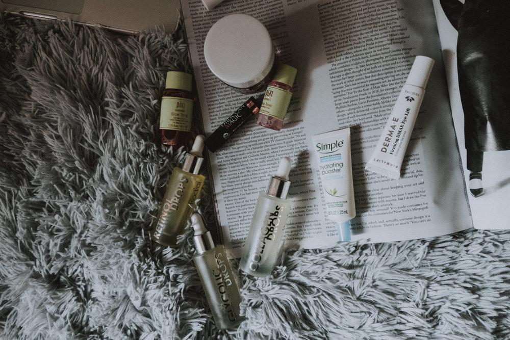 Skincare, rodial, derma e, simple, pixi beauty, moroccan magic