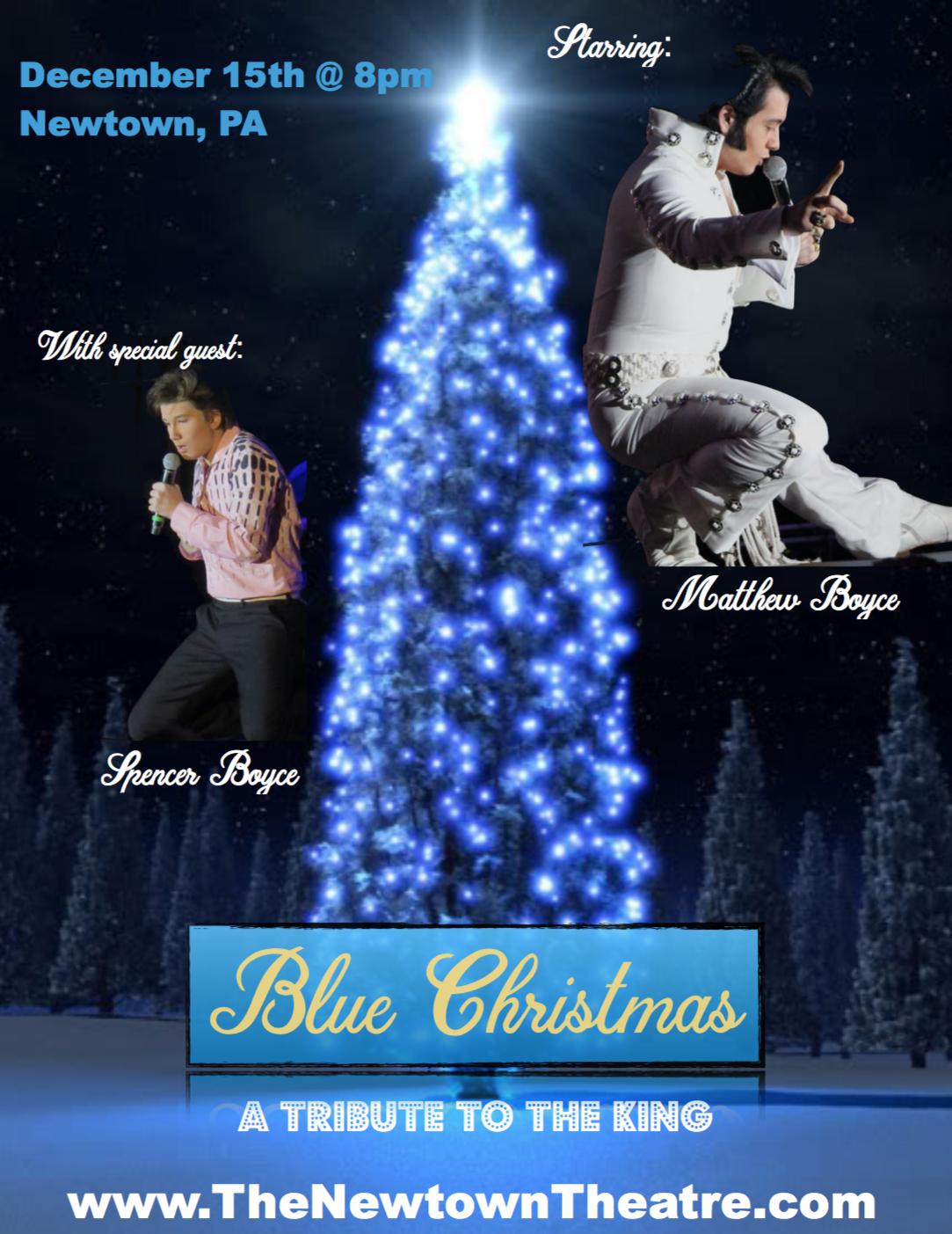 Blue Christmas: Elvis Tribute Artist Matthew Boyce — The Newtown Theatre