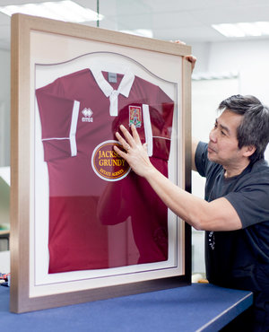 Football Shirt And Sports Framing Picture Perfect
