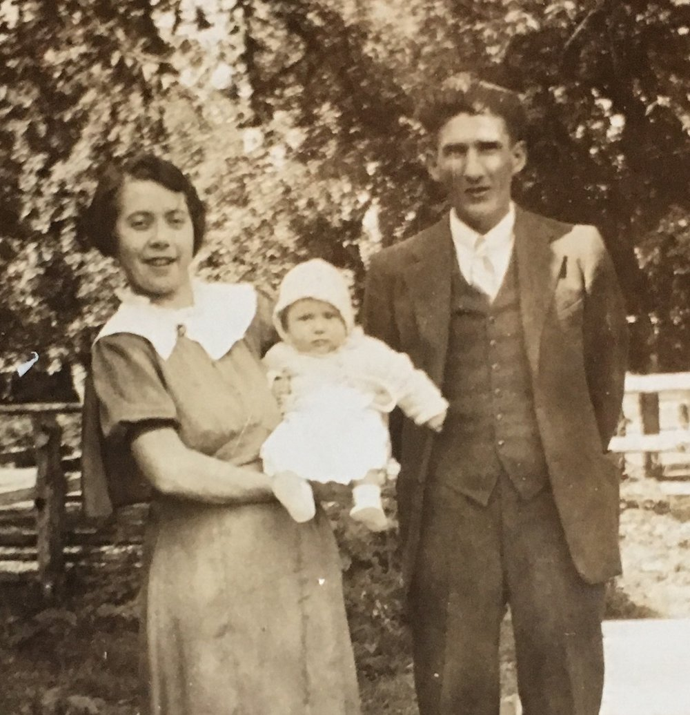 Frances, Richard, and Jay (c. 1937)