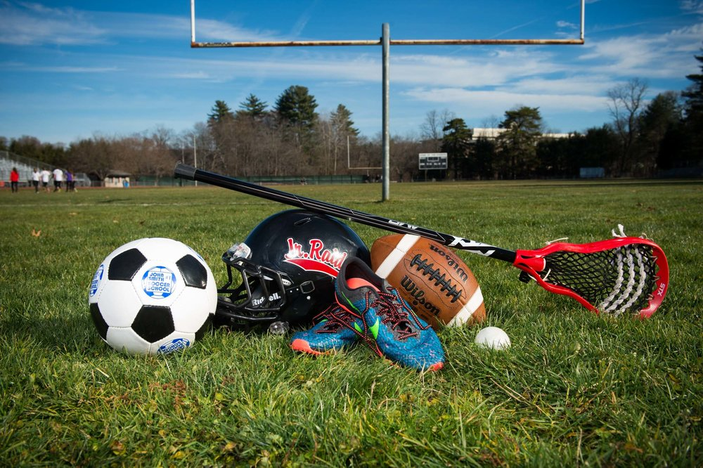 Maura Wayman Photography, Photography, Corporate Photography, stock, stock images, Massachusetts, Boston, Metro West, Field Goal, football, football field, sports, field, sport equipment, sunny day, cu, close up of equipment, cu sporting equipment,