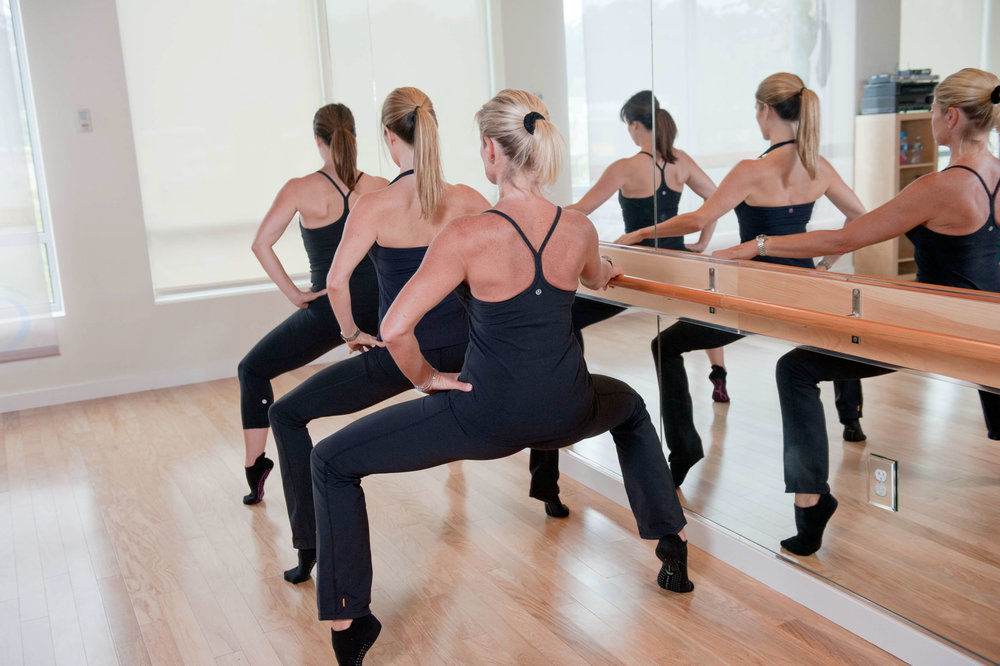 Maura Wayman Photography, Photography, Corporate Photography, stock, stock images, Massachusetts, Boston, Metro West, exercise, pilates, barre, instructors, teachers, mirror, studio, team picture althetic gear, reflection,