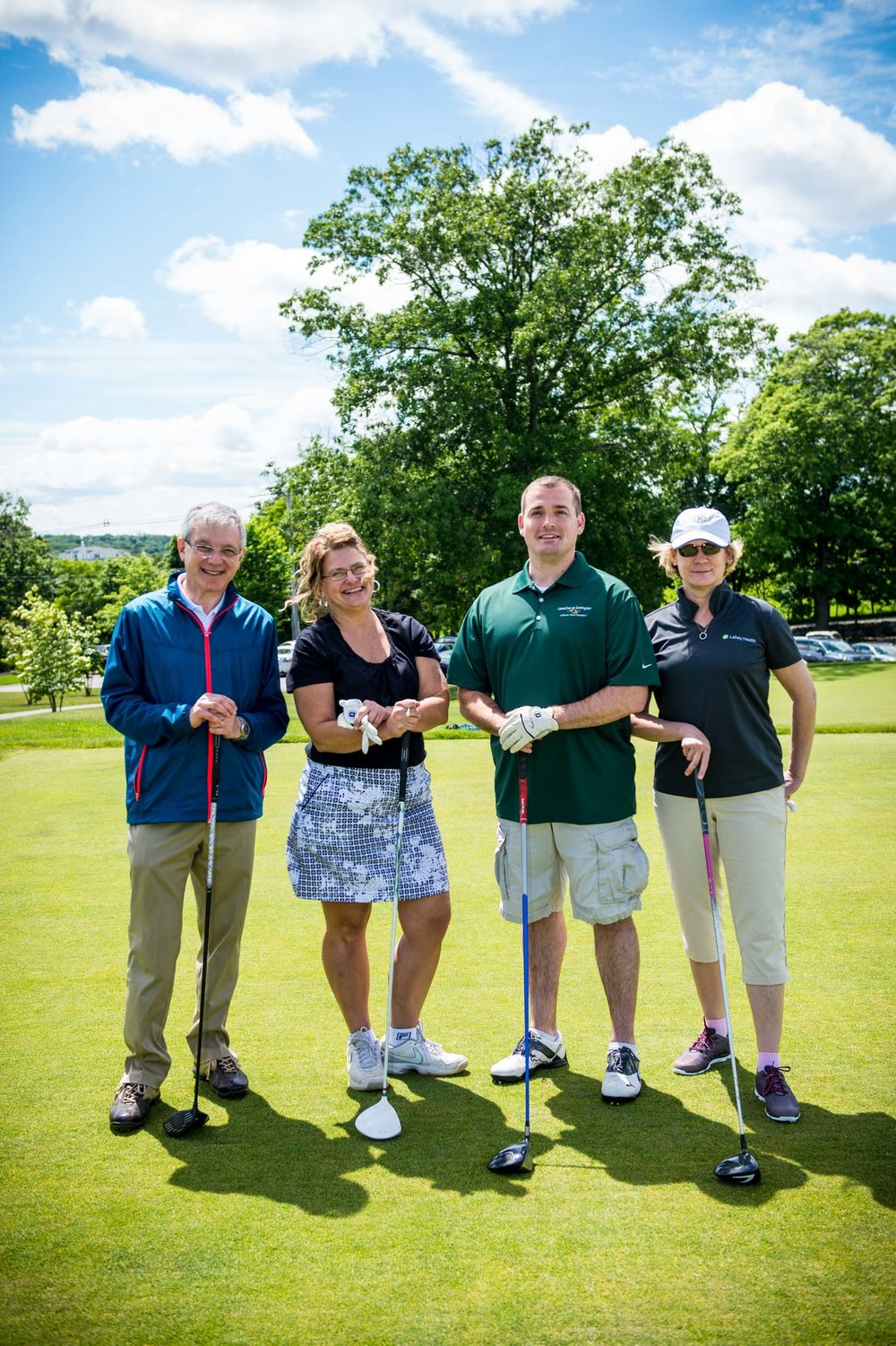 Maura Wayman Photography, Photography, Corporate Photography, Massachusetts, Boston, Metro West, events, Corporate events, Photographer, Functions, Parties, Fundraisers, Lahey, Lahey Health, GOlf TOurnament, golfers, green, fairway,