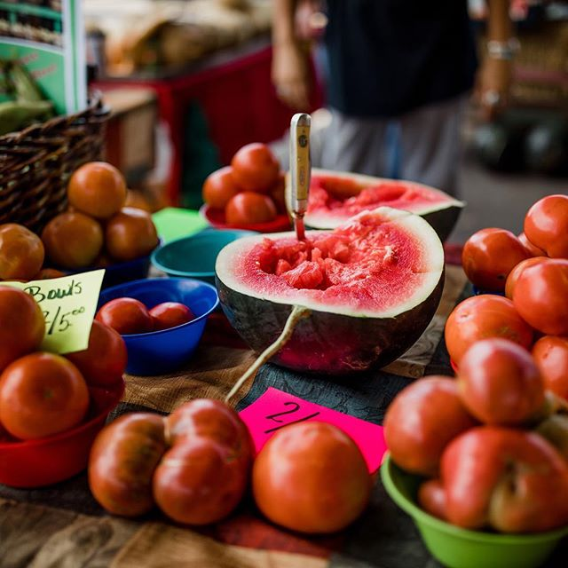 The definition of try before you buy. The Warren Country Farmers Market is not to be missed! #mcminnvillelove #visitmcminnvilletn #madeintn Photo: @natalieallenco Follow the link in our bio to see how you can win your own free trip to McMinnville.