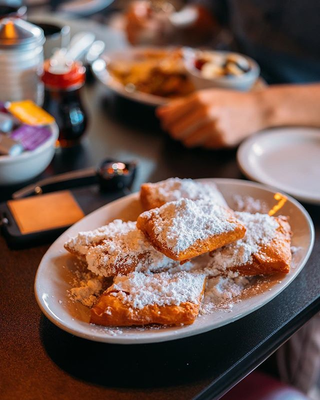 These French Quarter Beignets at @cumberlandbiscuitcompany will make you think you've picked up and moved to #NOLA. #visitmcminnvilletn #madeintn #lifeinbloomtn - Thanks to Cumberland Biscuit Company for partnering with us on our weekend getaway! See how you can win free meals, ticket, lodging and much more at lifeinbloomtn.com (link in bio).
