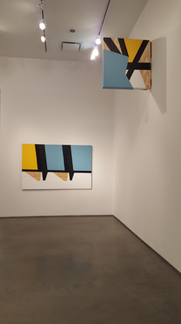 Colour & Form XII (above) and Bundle IV (below), 2016