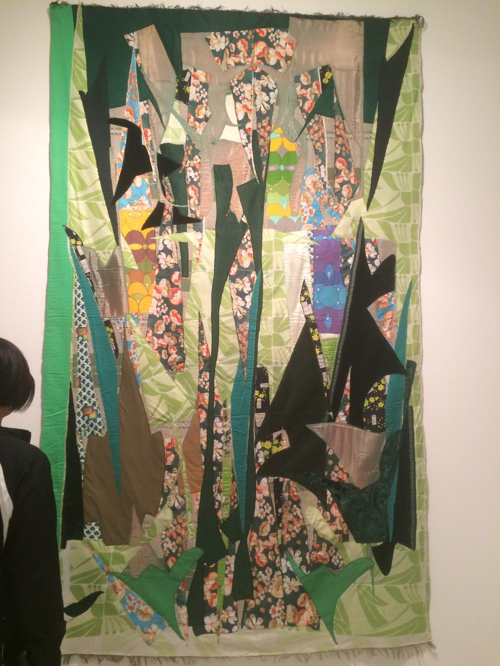 Great textile piece at NADA!