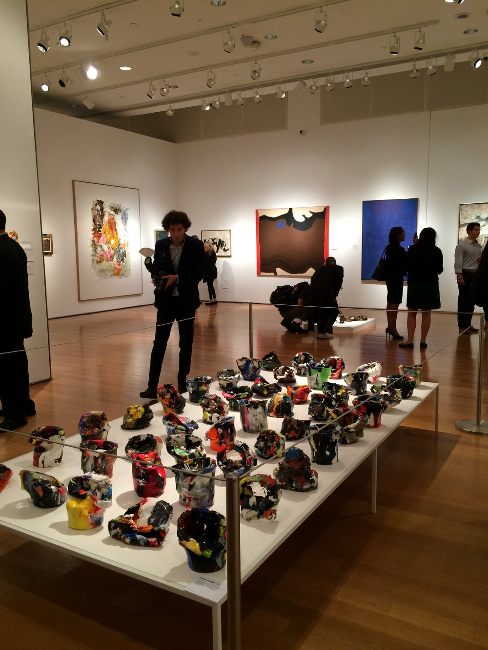 Installation view at Christie's 10th anniversary of First Open-NYC