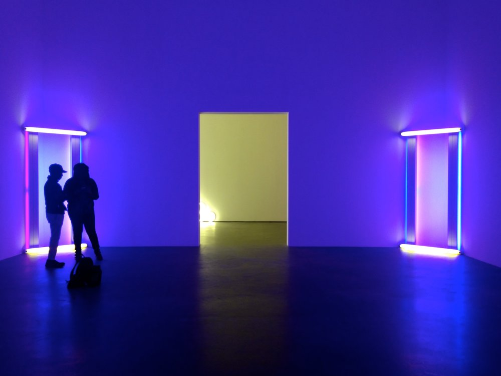 David Zwirner, Dan Flavin, Untitled (to Barnett Newman) two, 1971