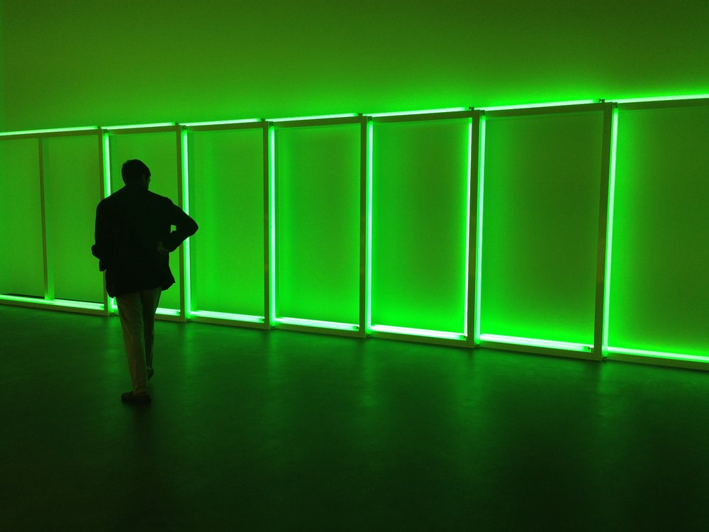 David Zwirner, Dan Flavin, Untitled (to Sonja), 1969