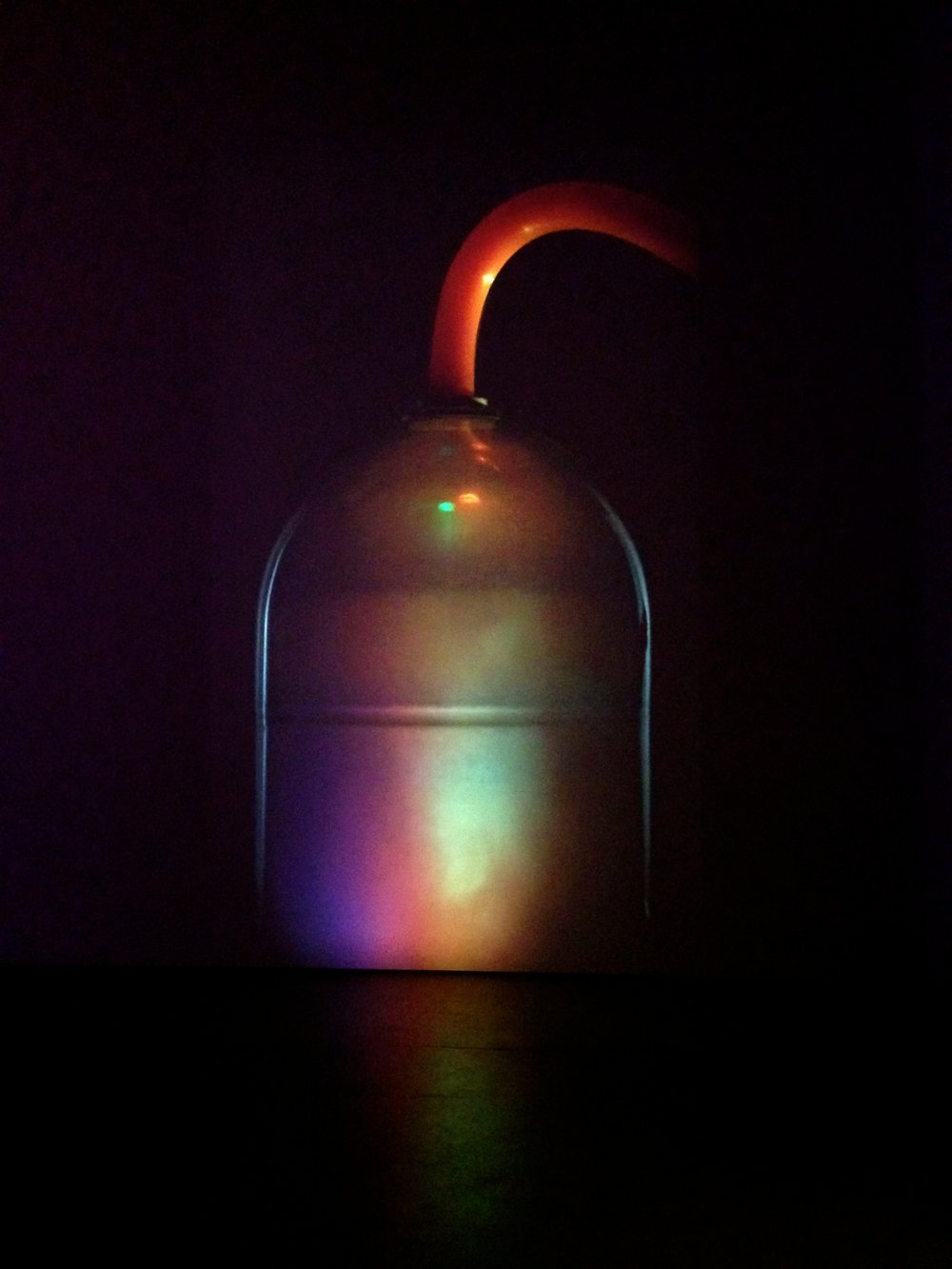 Hauser & Wirth, Mike Kelley, Bottle 4, 2007, Video projection