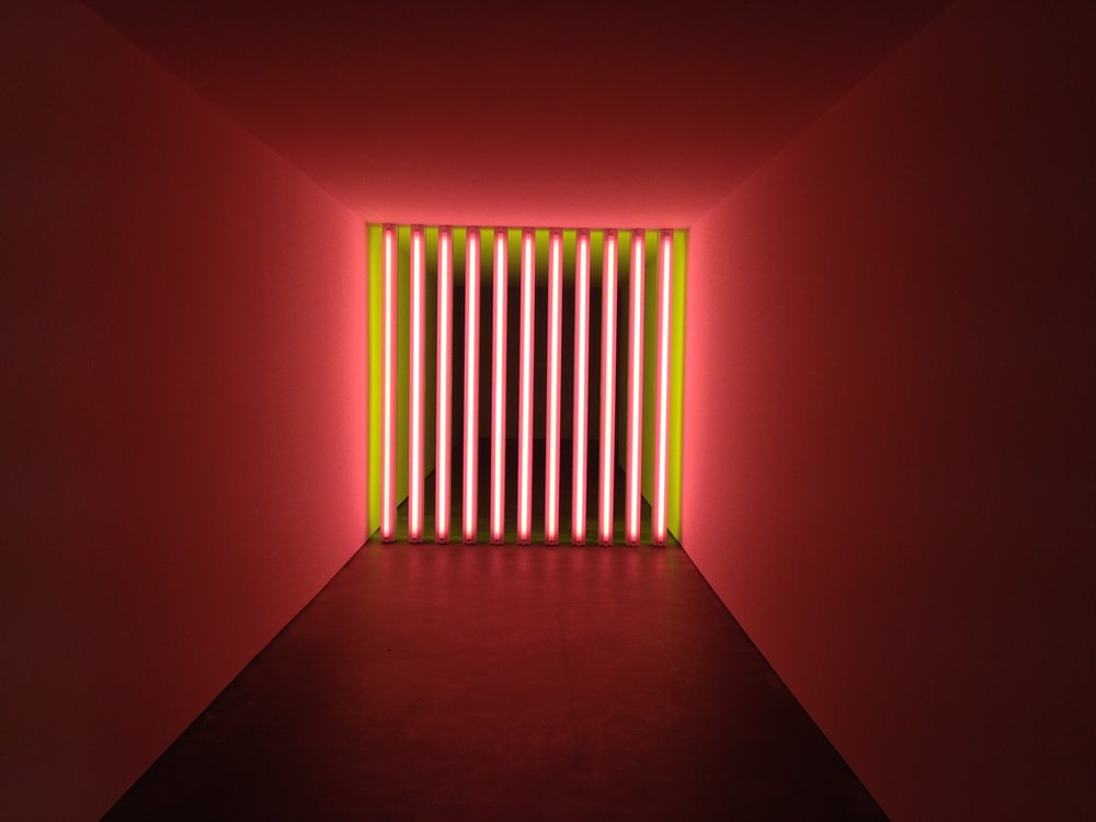 Dan Flavin, Untitled (to Barry, Mike, Chuck and Leonard), 1972-­‐1975