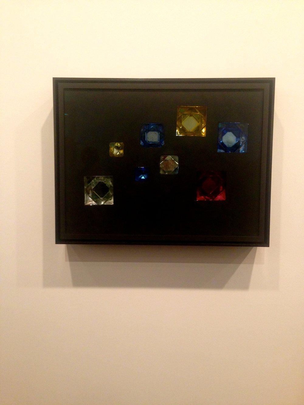 Andrea Rosen, Josiah McElheny, Crystalline Prism Painting VI, 2015