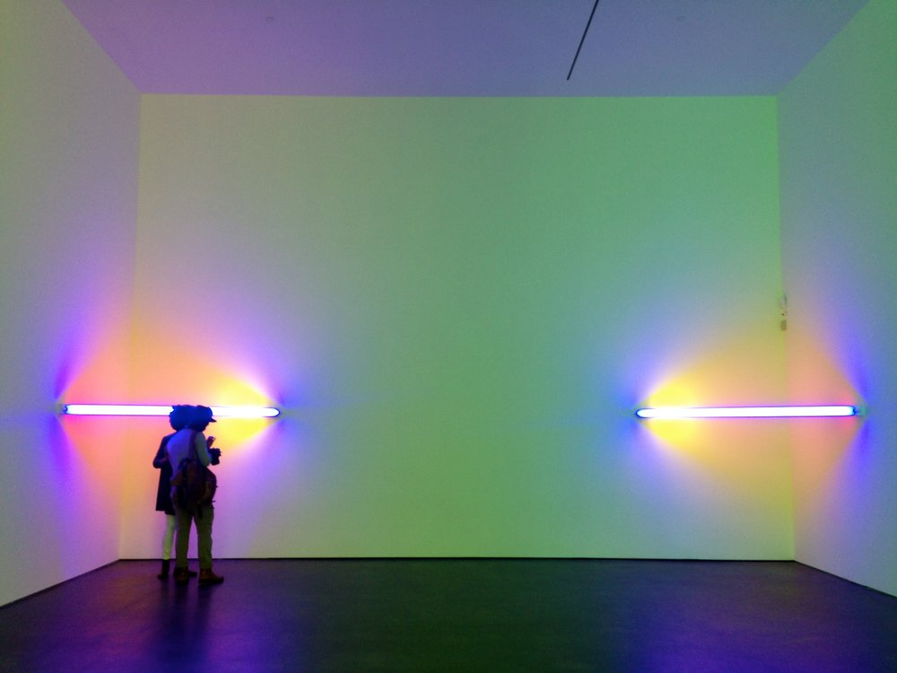 Dan Flavin, Untitled (to Virginia Dwan) 1 and 2, 1971