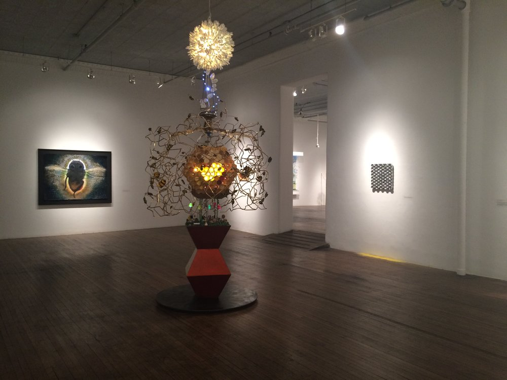 Ronald Feldman Fine Arts, Pollination, Kelly Heaton, The Beekeeper, 2015