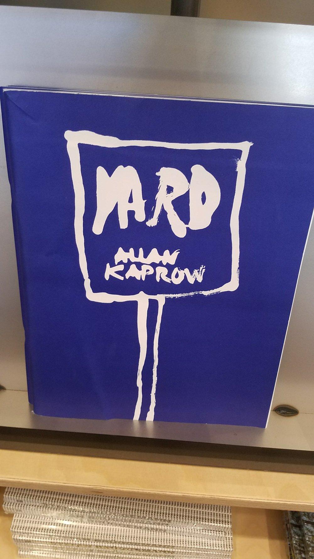Allan Kaprow,  Yard , 1961, Courtesy Hauser & Wirth (Bookstore)