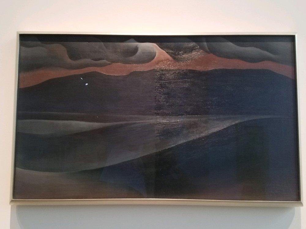 Georgia O'Keeffe,  Storm Cloud, lake George , 1923