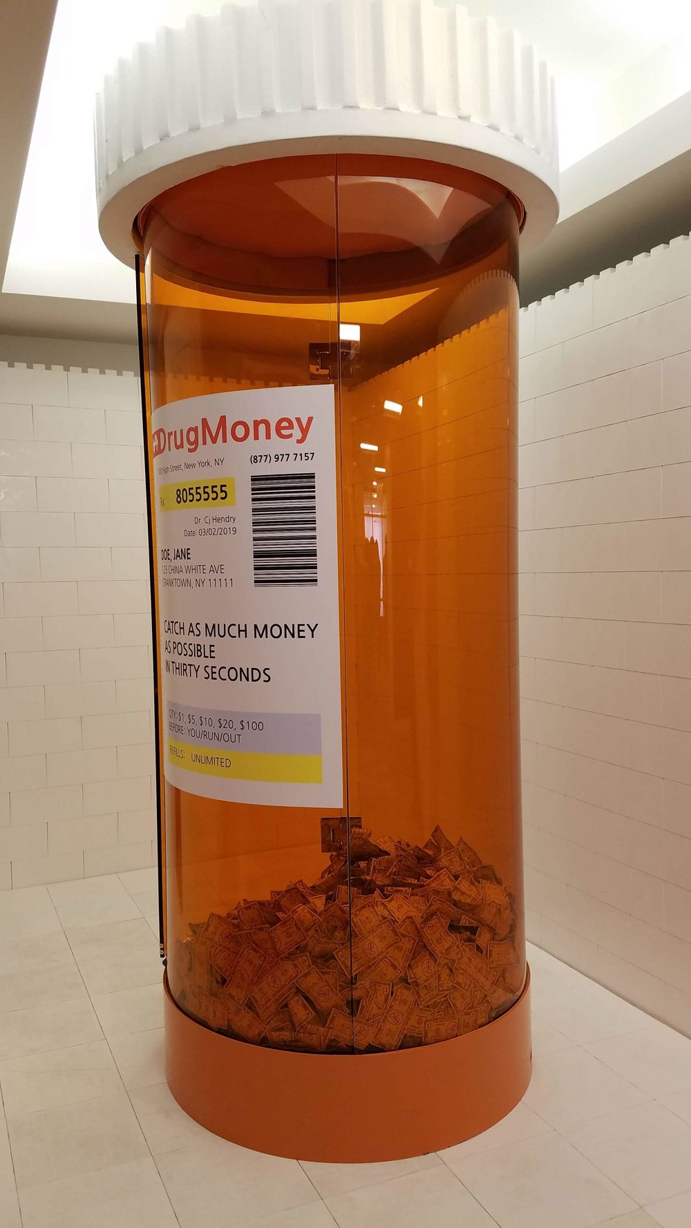 Cj Hendry, Drug Money