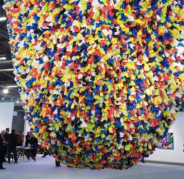 Pascale Marthine Tayou, Plastic Bags