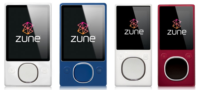 Знятий з виробництва Zune, вже давно не отримає жодних оновлень... але він вже і без проблем відтворює MP3-файли, і в майбутньому буде також.