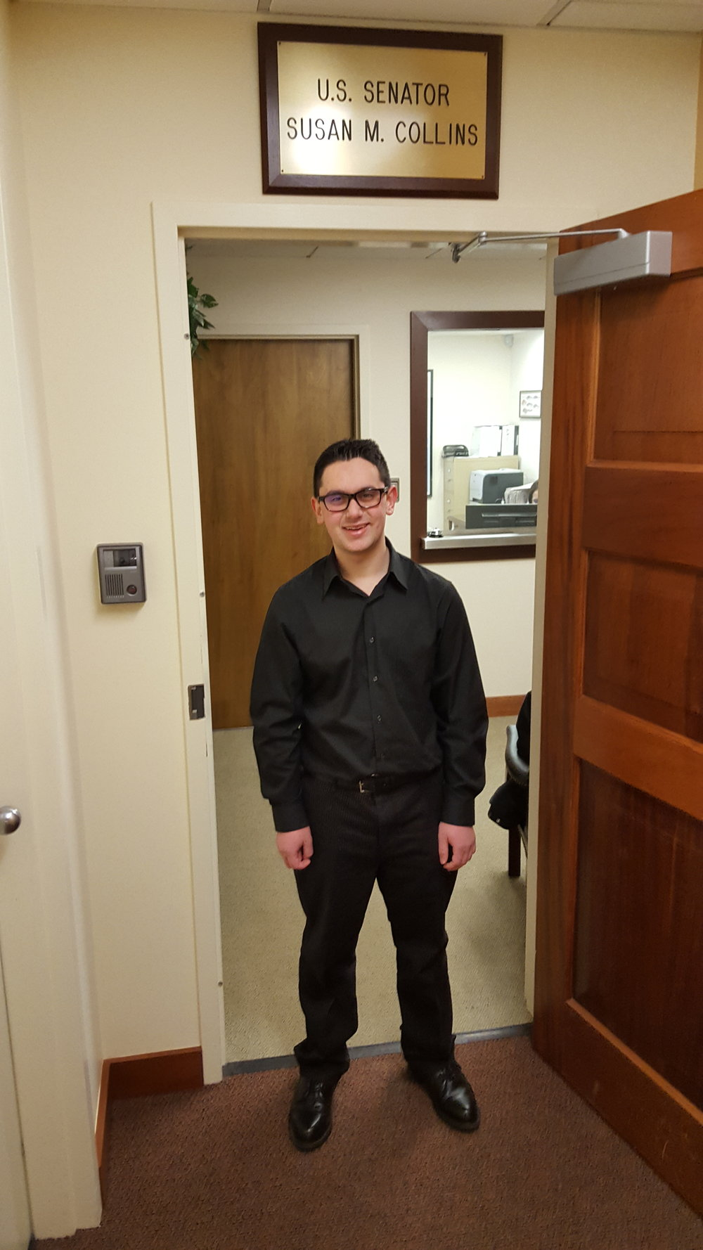 David Oken, class of 2018, has spent his Flex Friday year researching and shadowing a variety of career paths.