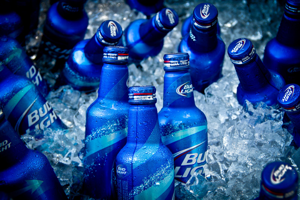Bud Light/ Budweiser- Flashstock.com