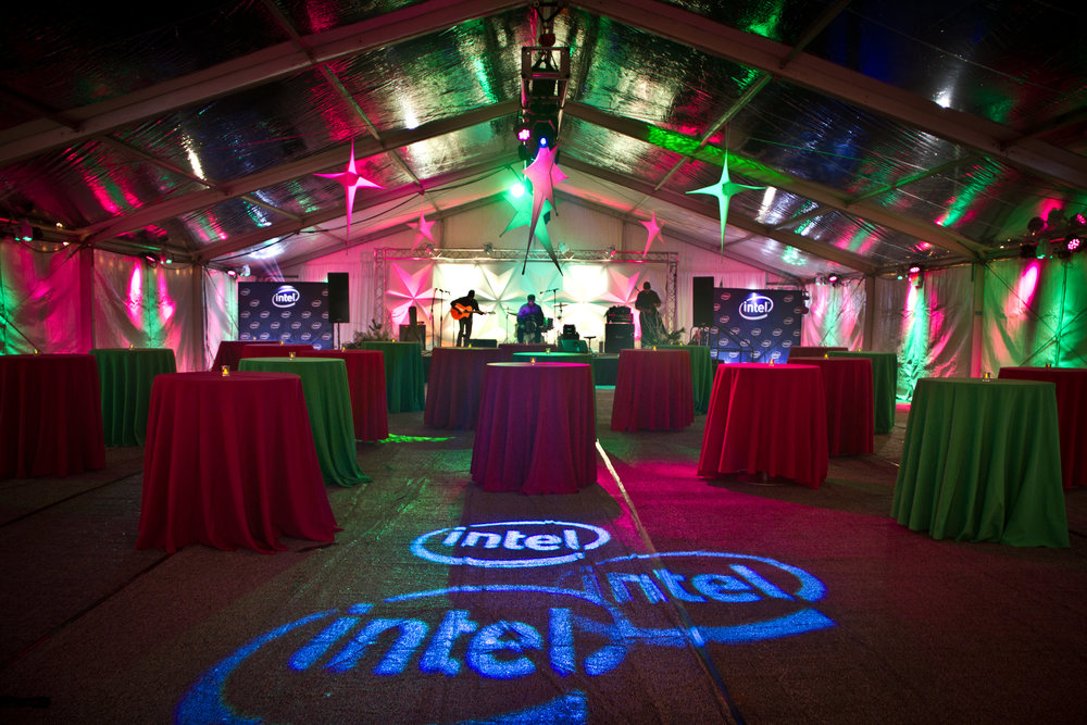 PETER CORVALLIS PRODUCTIONS |  INTEL holiday event