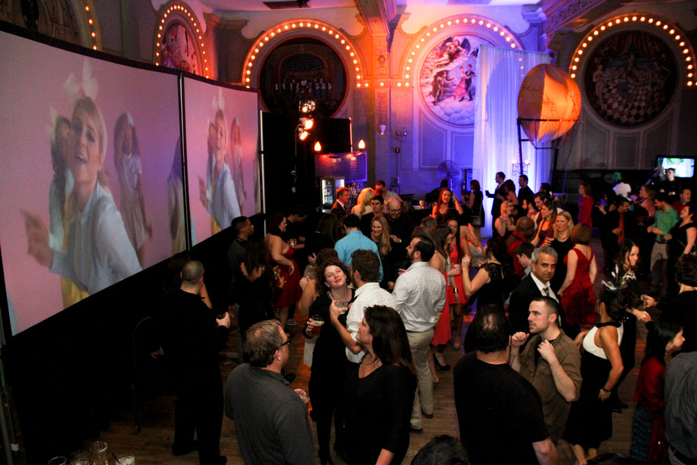 YAHOO -  Holiday Party @ Crystal Ballroom