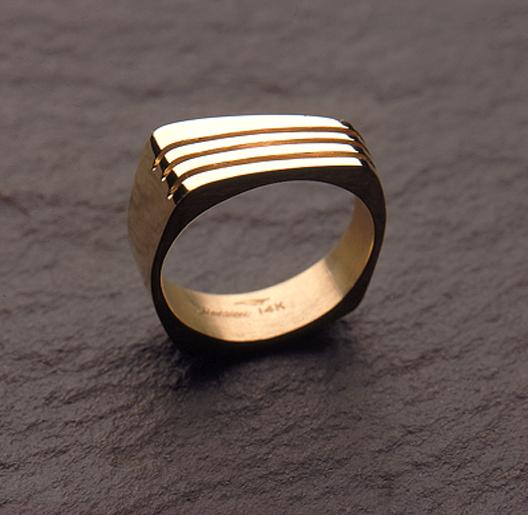 14k Gold bandring